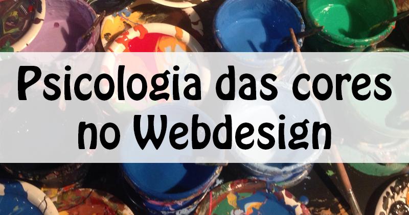 Psicologia das cores no Webdesign